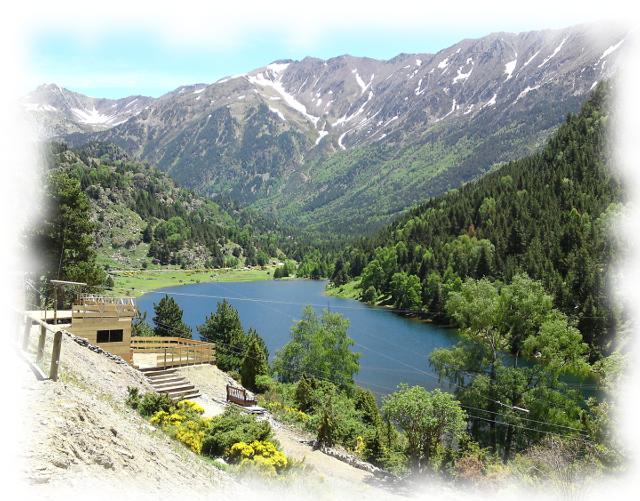Le Tyrovol au Lac du Passet