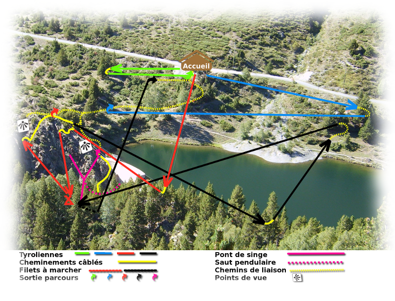 Plan Parcours Tyrovol